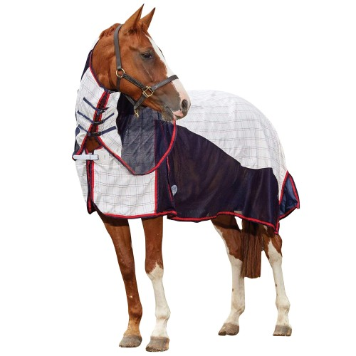 (ウェザビータ) Weatherbeeta 馬用 Breeze 腹帯付き コンボネック ターンアウトラグ II 馬着 乗馬 ホースライディング 【海外直送】