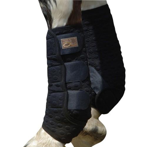 (エクイブリウム) Equilibrium 馬用 Stretch & Flex トレーニングラップ ブーツ 保護 プロテクター 乗馬 (1ペア) 【海外直送】