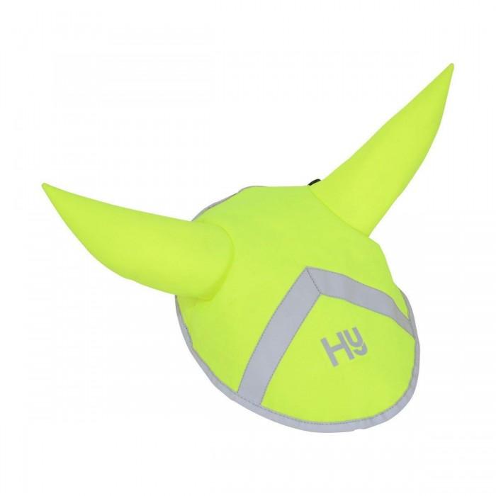 (ハイ) HyVIZ 馬用 リフレクター 耳付きボンネット 反射 蛍光 安全 乗馬 ホースライディング 【海外直送】