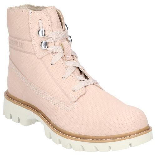 (キャタピラー) Caterpillar レディース Basis レースアップ レザーブーツ 婦人靴 カジュアルブーツ 女性用 【海外直送】