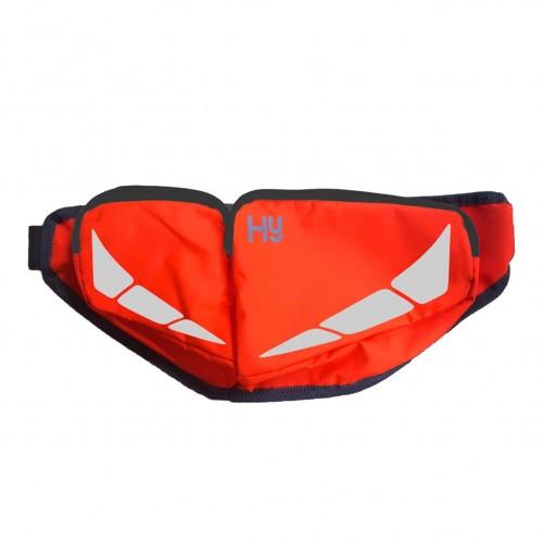 (ハイ) HyVIZ ユニセックス Reflector ウエストポーチ 小物入れ 安全 蛍光 乗馬 スポーツ ホースライディング 【海外直送】