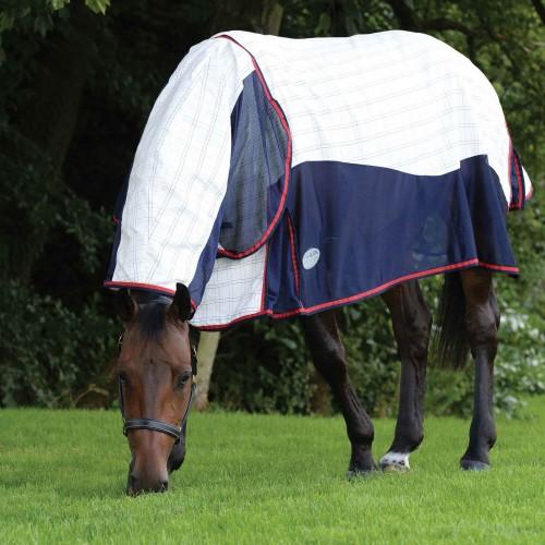 (ウェザビータ) Weatherbeeta 馬用 Breeze サーチングル付き III コンボネック ターンアウトラグ 馬着 乗馬 ホースライディング 【海外直送】