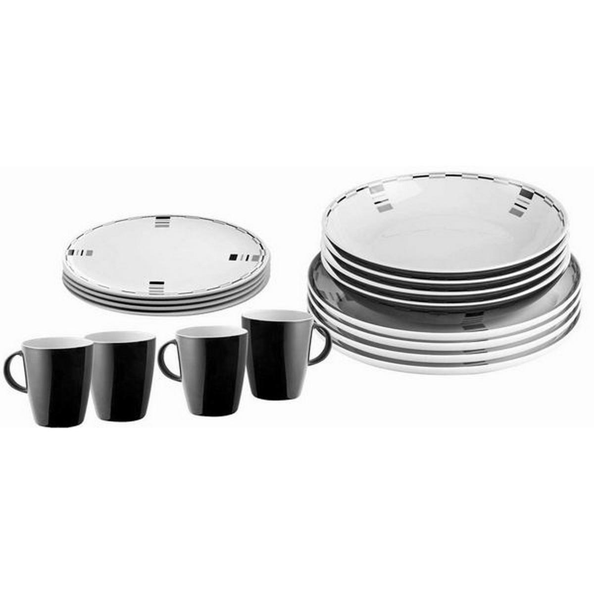 (ブルンナー) Brunner Lunch Box メラミン 食器16点セット 皿 プレート マグカップ ディナーウェア 【海外直送】