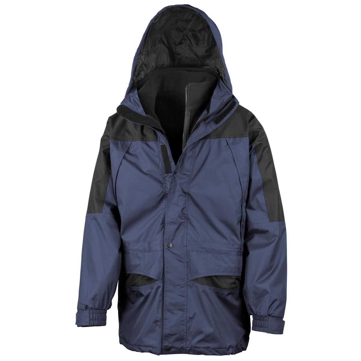 (リゾルト) Result メンズ アラスカ スリーインワン 3in1 ストームドライ 防水・防風ジャケット アウターコート アウトドアジャンパー 上着 防寒着 オーバー トップス 男性用 【海外直送】