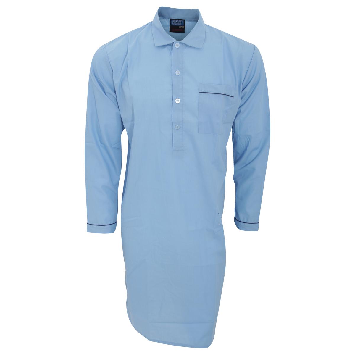 定番 寝巻き 在庫あり 部屋着 メンズパジャマ ナイトシャツ 紳士用パジャマ メンズ 無地 ナイトウェア 男性用 ルームウェア 長袖パジャマトップス トップス 海外通販 パジャマシャツ