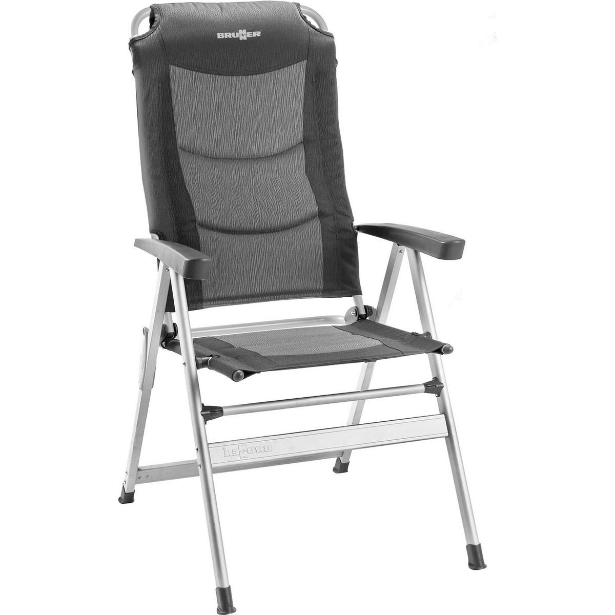 (ブルンナー) Brunner Kerry スリム アルミニウム リクライナー キャンプ 椅子 チェアー アウトドア 【海外直送】