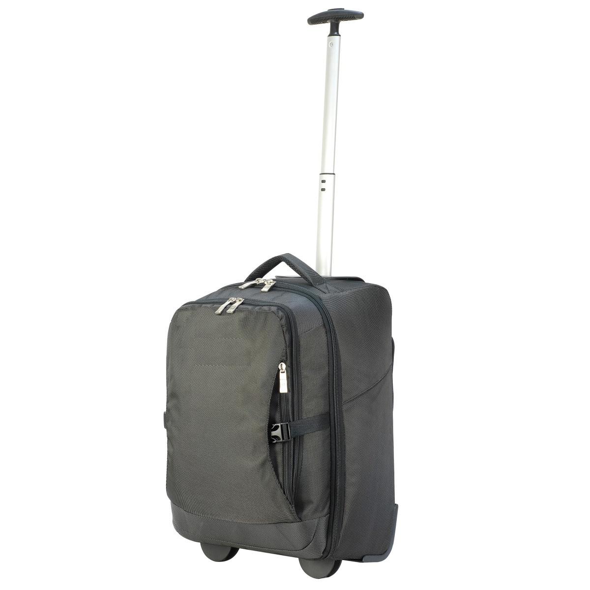 (シューゴン) Shugon Roma エアポート ラップトップ トローリー スーツケース トラベルバッグ 旅行鞄 (30L) 【海外直送】
