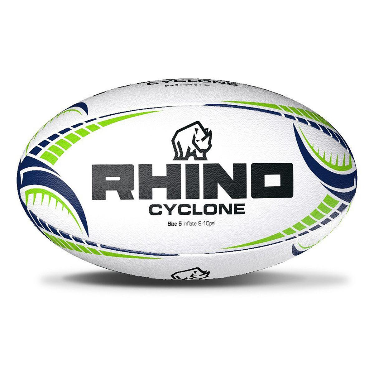 スポーツ用品 ラグビー トレーニング用品 練習用品 トレーニング 新品未使用正規品 ライノー Cyclone 休み ラグビーボール 海外直送 Rhino