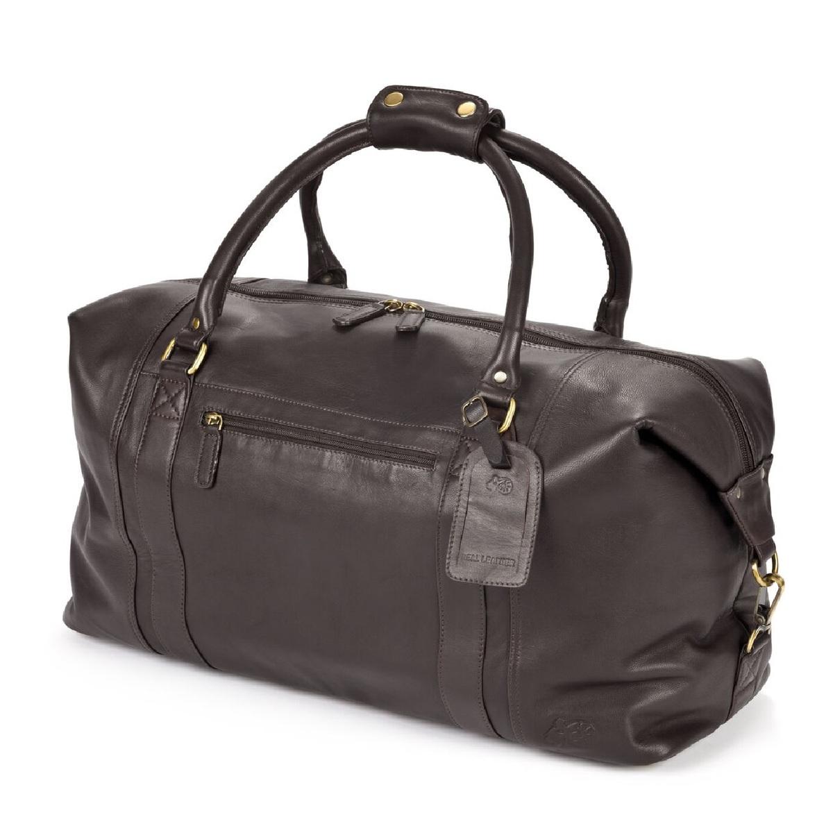 (イースタン・カウンティーズ・レザー) Eastern Counties Leather ラージ ホールドオールバッグ 旅行かばん 【海外直送】