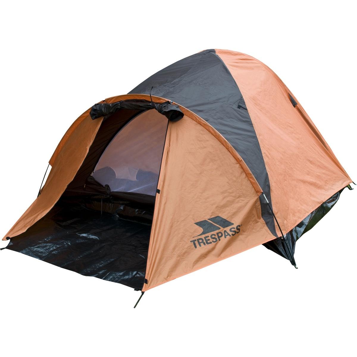 (トレスパス) Trespass Ghabhar 4人用 ダブルスキン テント キャンプ アウトドア 【海外直送】