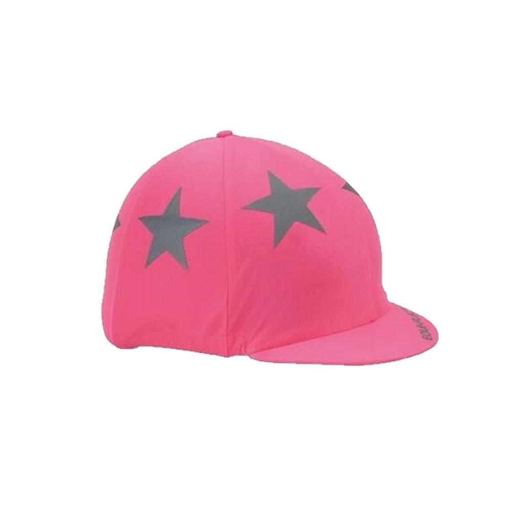 シルク 帽子カバー 流行のアイテム 馬術 激安 競技会 ホースライディング エクイフレクター Equi-Flector ハットカバー 乗馬 海外直送 帽子用カバー