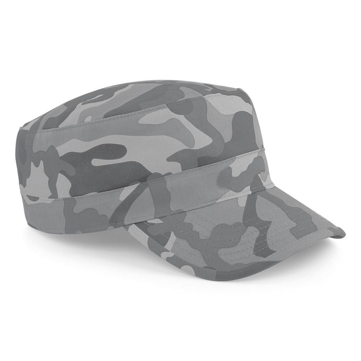 ミリタリー ファッション カジュアル ハット 帽子 ビーチフィールド Beechfield カデットキャップ 2020 新作 アーミーキャップ ユニセックス 迷彩柄 激安特価品 ミリタリーキャップ 海外直送