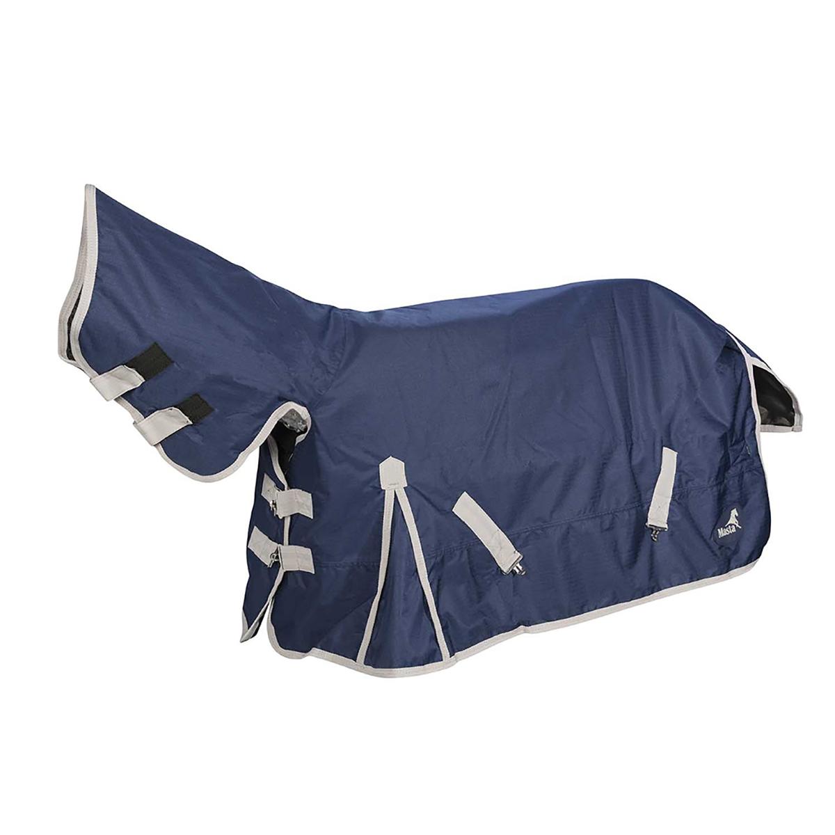 (マスタ) Masta 馬用 TEX ベーシック 200g ターンアウトラグ 一体型ネックカバー付き 馬着 乗馬 ホースライディング 【海外直送】
