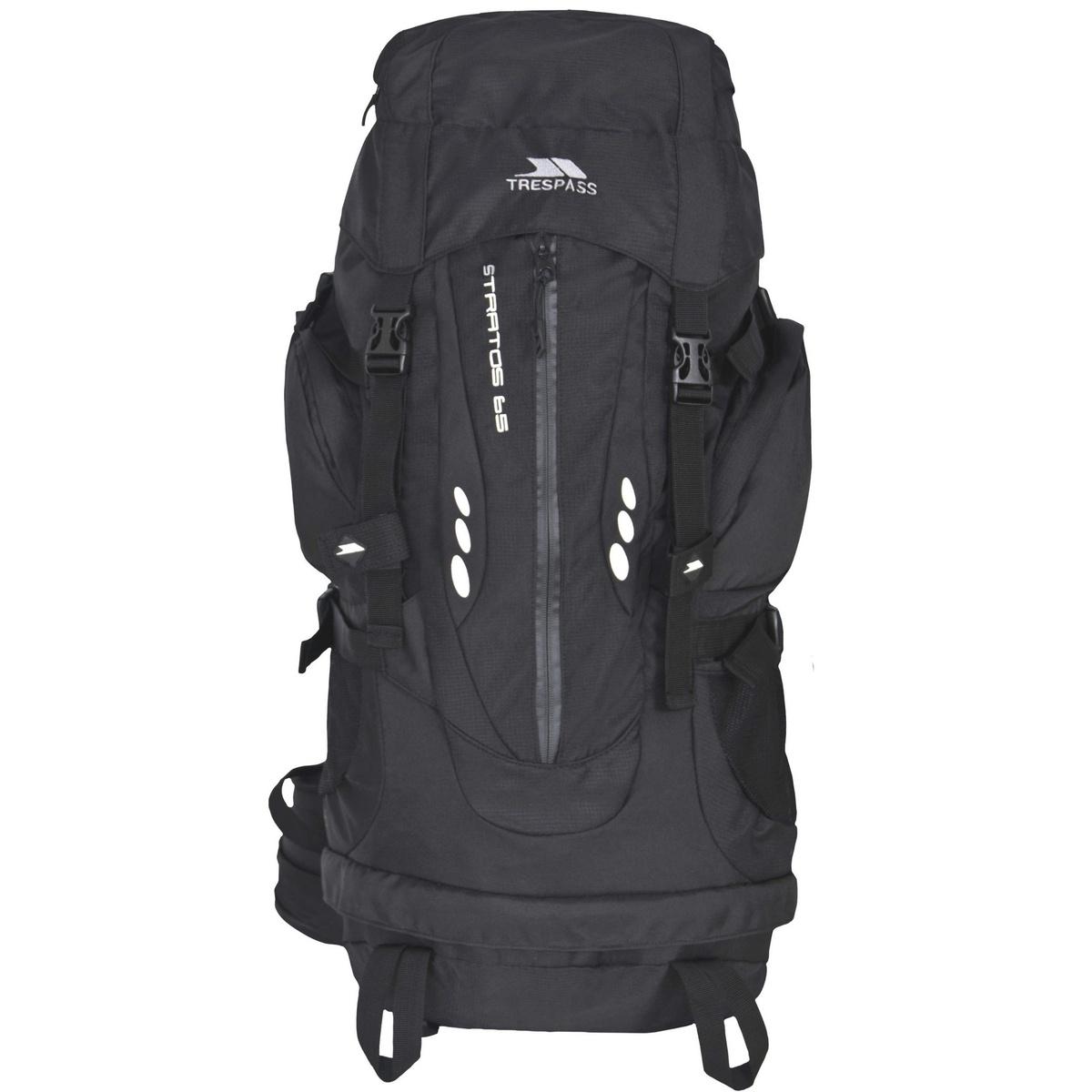 (トレスパス) Trespass ストラトス ハイキング バックパック リュックサック アウトドア スポーツ かばん バッグ 65リットル 【海外直送】