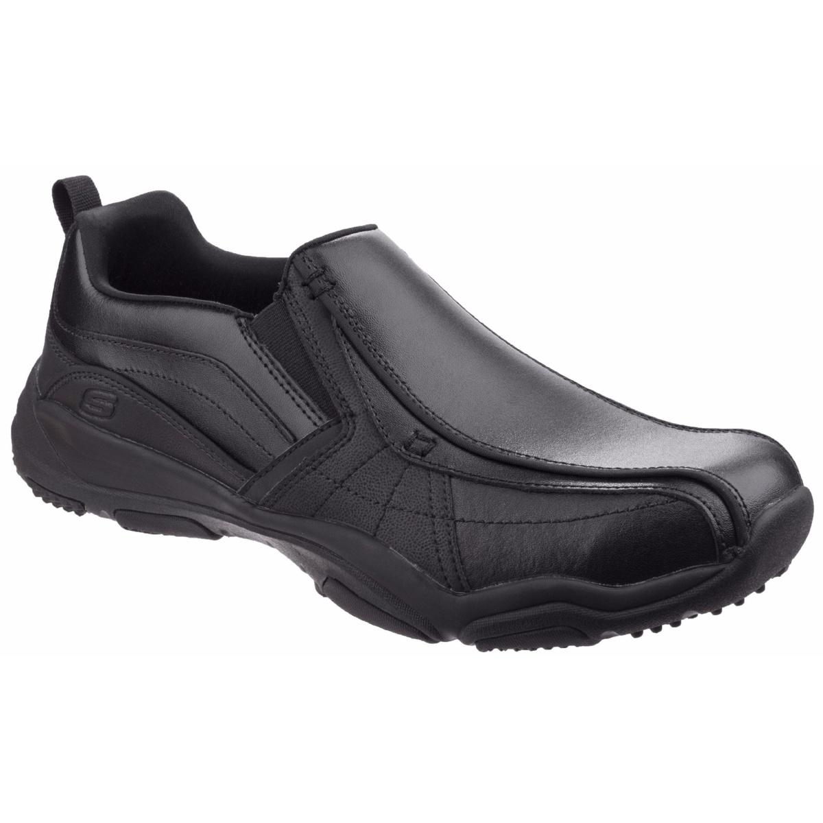 (スケッチャーズ) Skechers メンズ ラーソン・ベルト スリッポンシューズ 紳士靴 カジュアルシューズ 男性用 【海外直送】