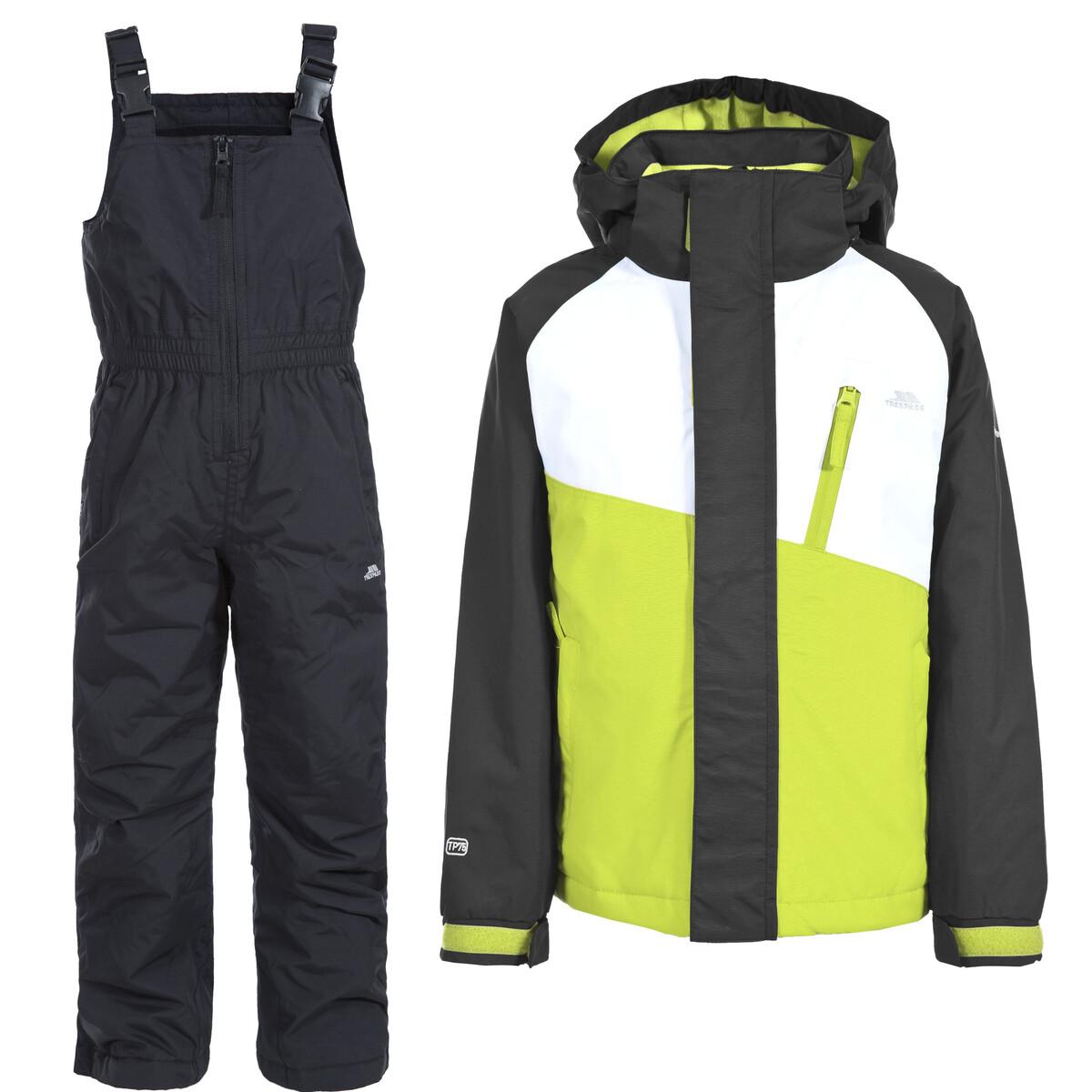 (トレスパス) Trespass キッズ・子供・ジュニア クローリー スキーウェアセット スキージャケット・オーバーオール 2点セット スノースポーツ 【海外直送】