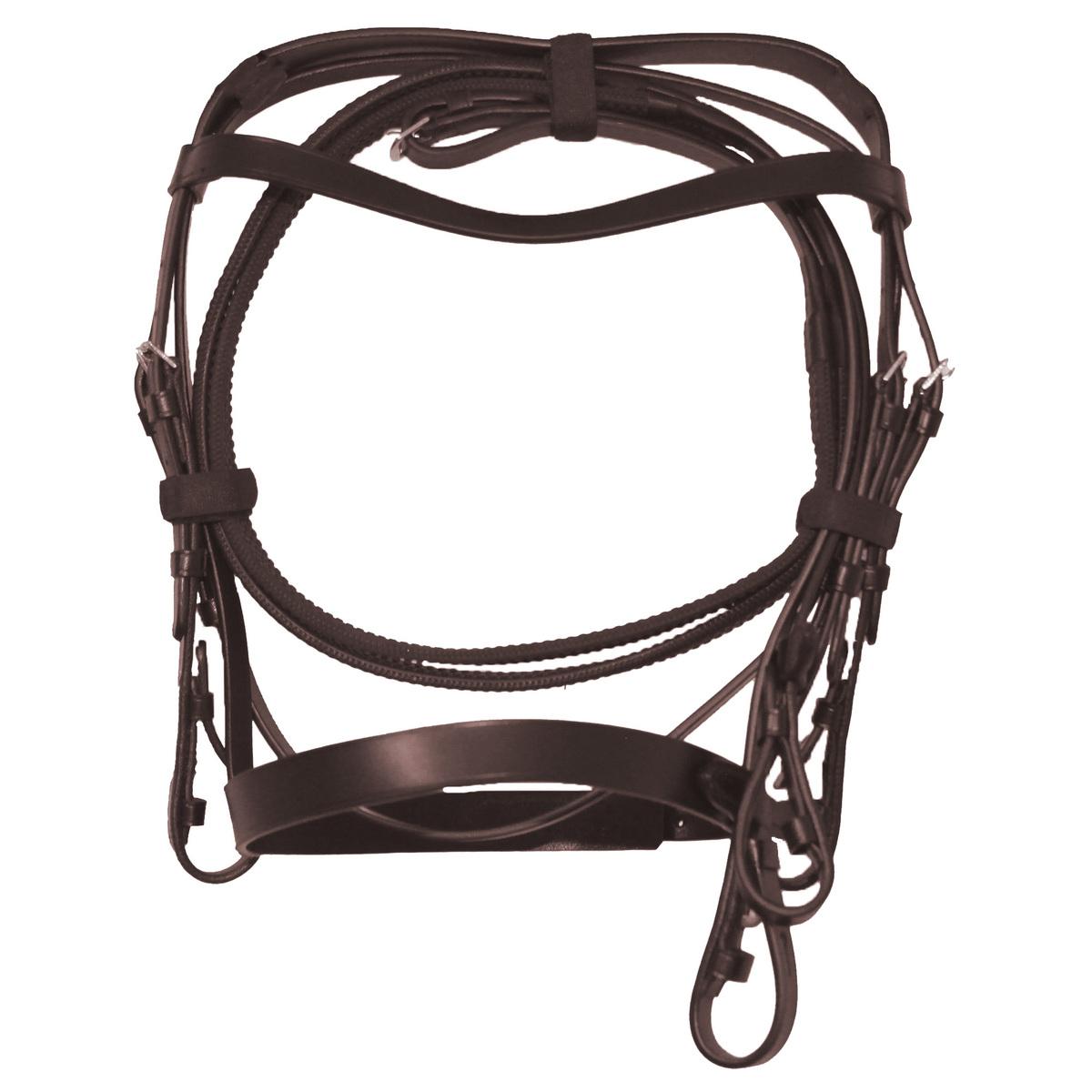(カレッジエイト) Collegiate 馬用 レザー ハント カブソン ブライドル II 頭絡 馬具 乗馬 ホースライディング 【海外直送】