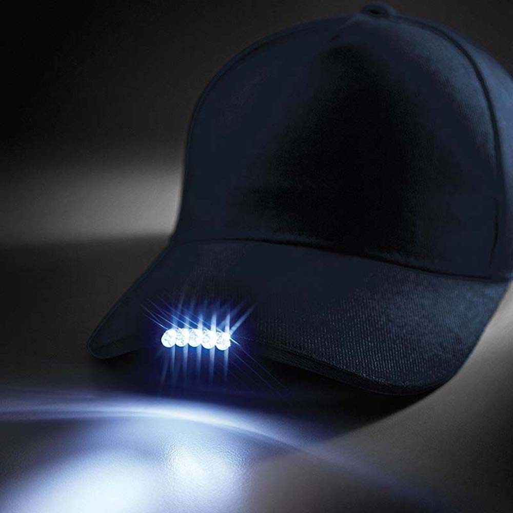 カジュアル ファッション ハット 再販ご予約限定送料無料 帽子 作業 ビーチフィールド 正規激安 Beechfield 男性用 LEDライト付き キャップ ベースボール 海外直送 メンズ