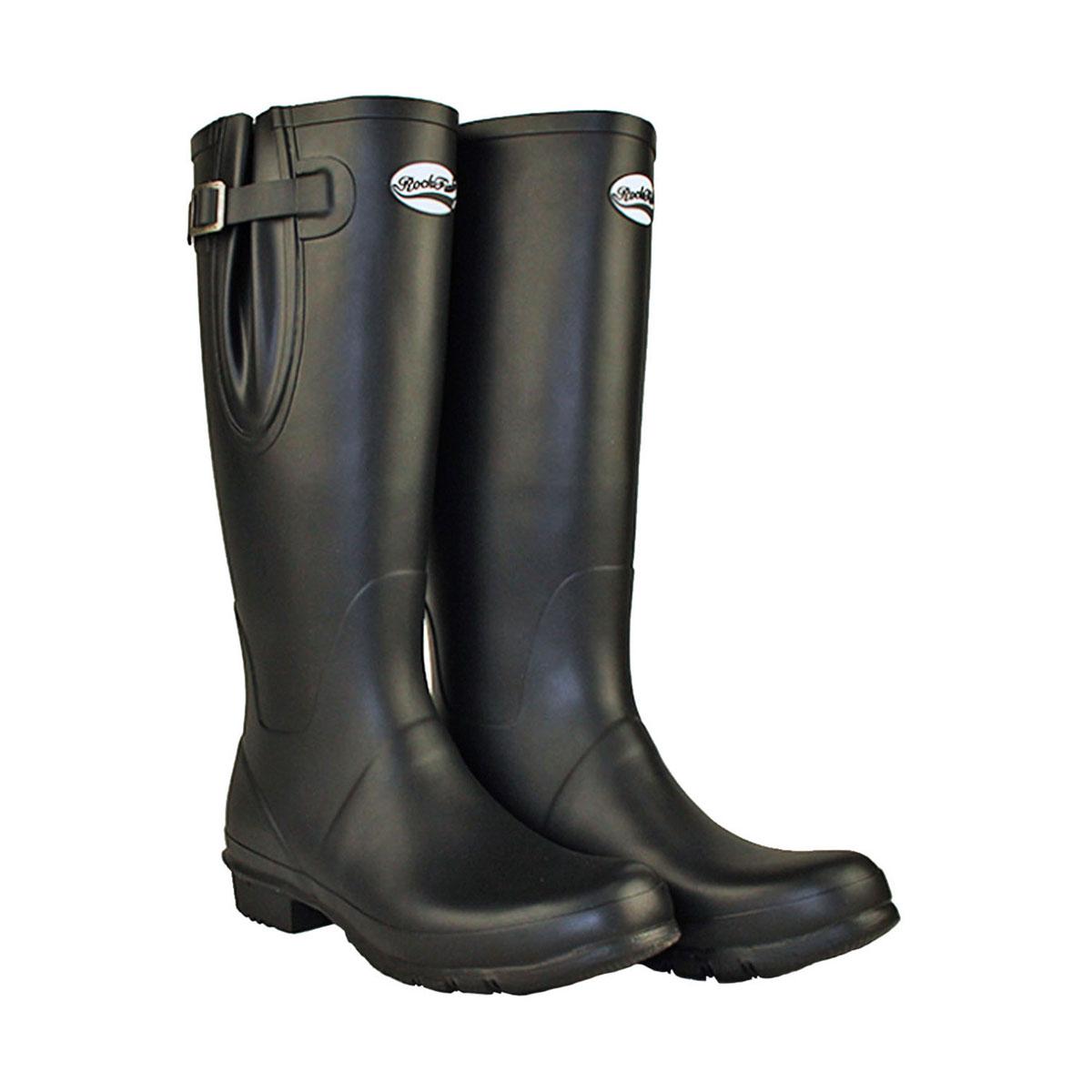 (ロックフィッシュ) Rockfish レディース ネオプレンライニング ロング 調節可能 マット ウェリントン 婦人靴 長靴 レインブーツ 女性用 【海外直送】
