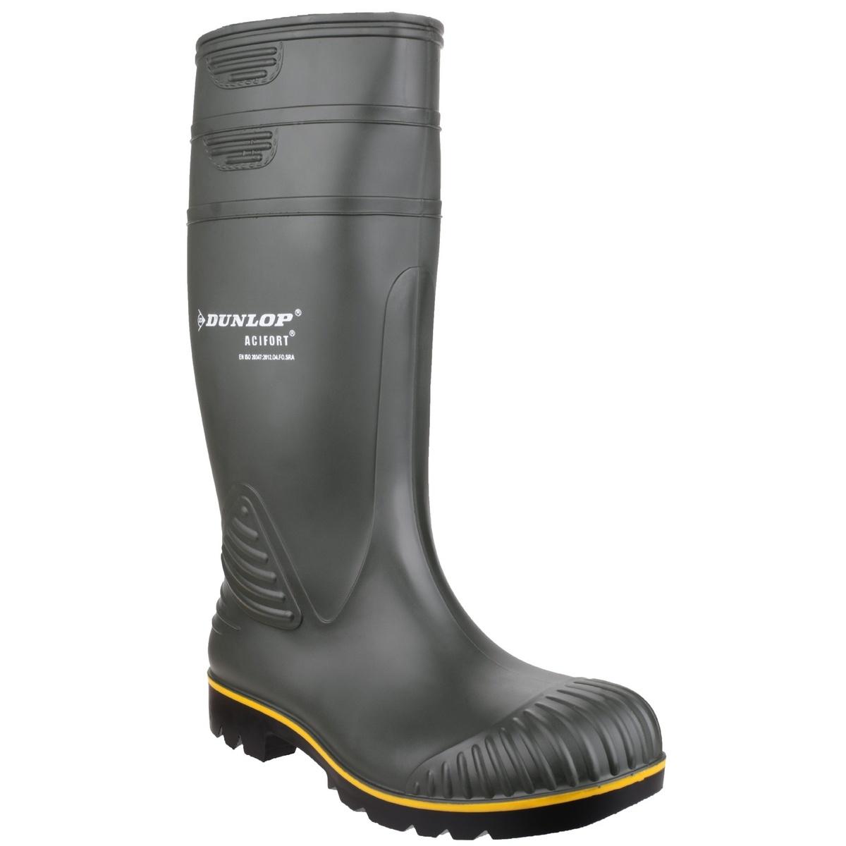 紳士長靴 レインブーツ 作業靴 農作業 完全防水 ダンロップ 流行のアイテム Dunlop 頑丈 アシフォート 海外通販 ノンセーフティー ウェリントンブーツ 男性用 輸入 メンズ