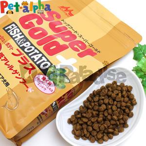 【クーポン配布中】森乳サンワールド スーパーゴールド フィッシュ&ポテト プラス 関節ケア用低アレルゲンフード 7.5kg