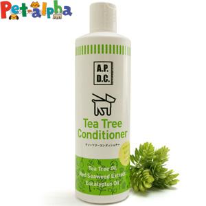 被毛や皮膚のうるおいを保つ紅藻エキス 植物性ヒアルロン酸が ナチュラルに毛並みと皮膚のコンディションを整えます 順次内容変更 APDC (人気激安) 激安☆超特価 ティーツリーコンディショナー500ml
