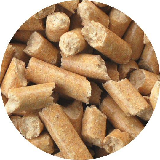 猫砂 おがくずペレット 2kg (約3.2L) 使い切りやすい2kg