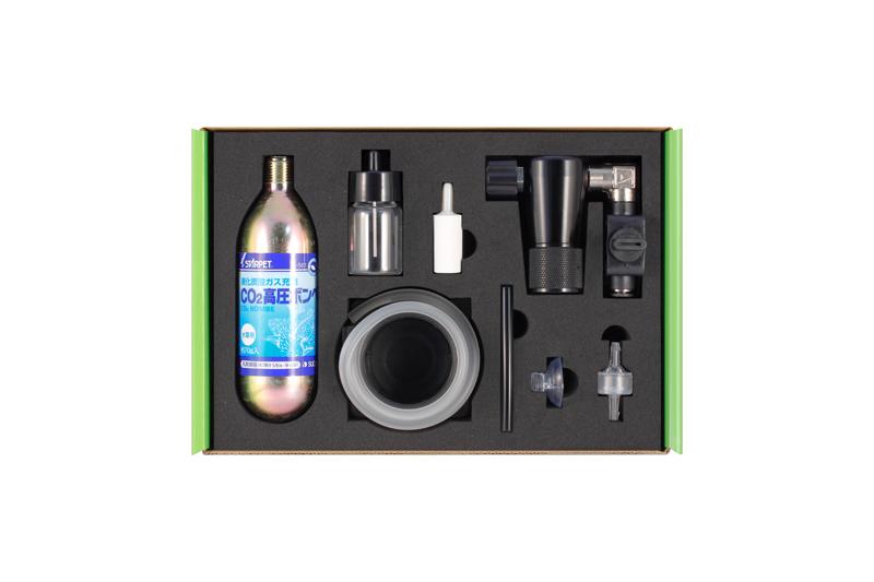 【飼育用品・器具】【Co2添加器具】Co2レギュレーター RG-S タイプB キット(淡水用)