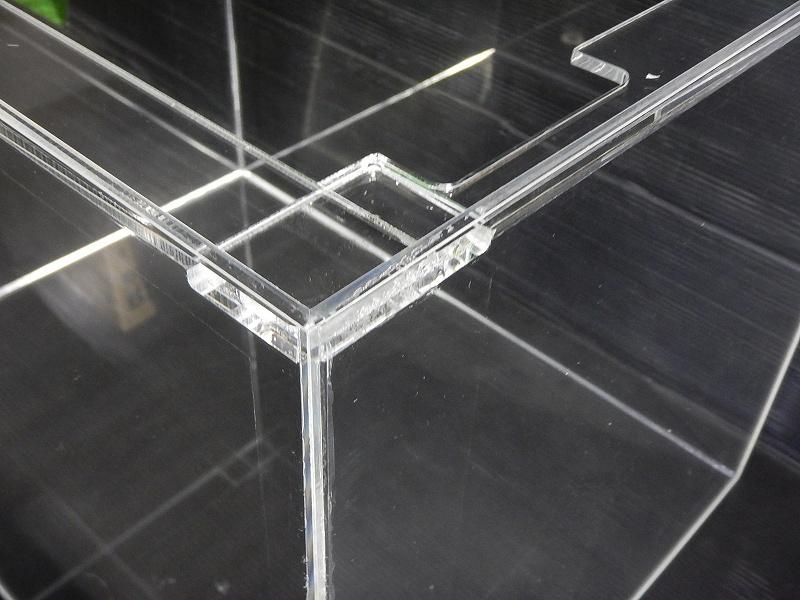 【飼育用品・器具】【アクリル水槽】[メーカー直送]アクリル水槽 150×45×45(cm) オールクリア アクリル水槽[送料別途](淡水 海水用)