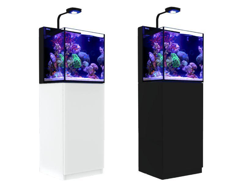 【飼育用品・器具】【オールインワン水槽】レッドシー マックス ナノ ブラック (お取り寄せ商品)(海水用)(サンゴ用)(メーカー保証付き)