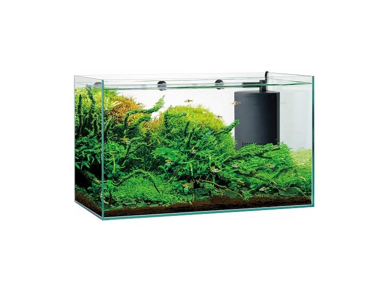 【飼育用品・器具】【水槽】グラステリア サイレント 600ST(淡水 海水用)