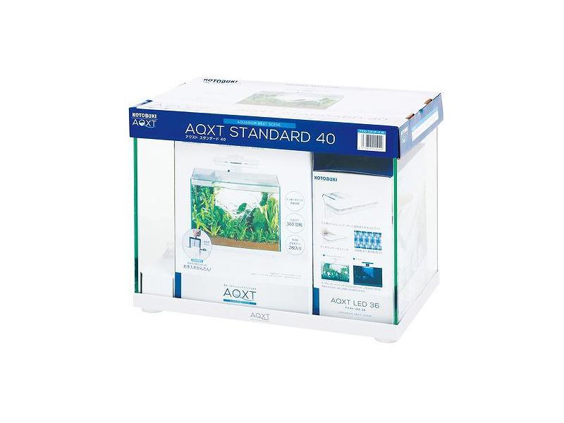【飼育用品・器具】【水槽】コトブキ AQXT STANDARD 40(アクストスタンダード40)(淡水 海水用)