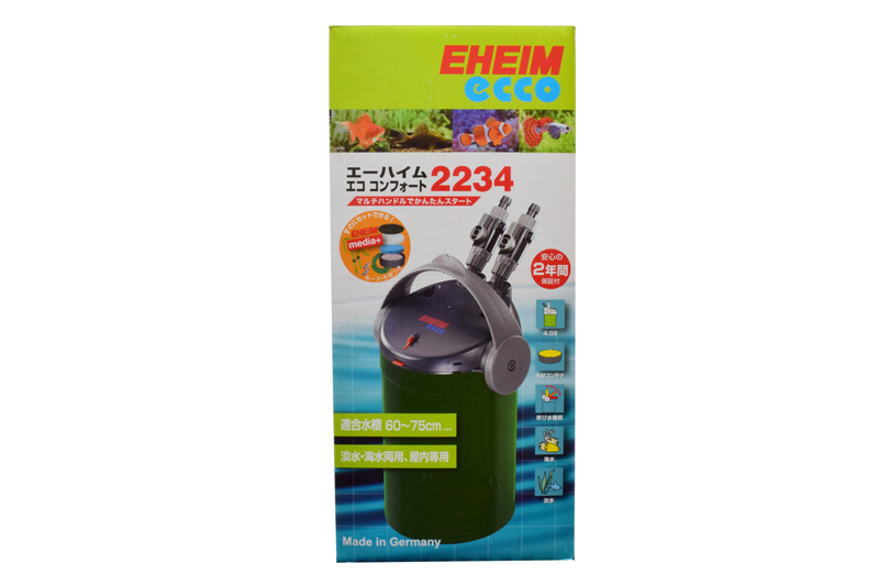 【飼育用品・器具】【フィルター】【外部フィルター】エココンフォート2234(淡水 海水可)(メーカー保証付き)