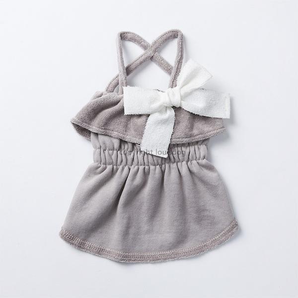 【ルイスドッグ】オーガニック ストラップドレス