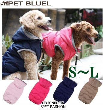 カジュアルに着こなせて 犬種問わず似合うジャケットです4色から選べるダウンジャケット。 犬 服 秋 冬服 ドッグウェア 犬用Lのみ宅配便のみ ウェーブパーカー S/M/L IS PETコンビニ受取対応商品 ※セール商品につき、返品、お取り換えはできません