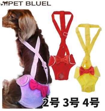 リアル | 犬用 リボンサニタリーパンツ 2号/3号/4号【コンビニ受取対応商品】