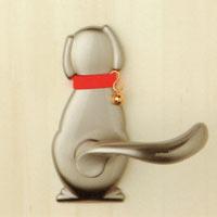 【ペット型ドアノブ】わんにゃんレバーハンドル Dog2 51