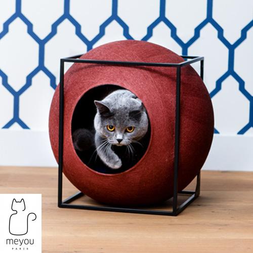 【MEYOU】 THE CUBE ザ キューブ 猫 キャットハウス ペット クッション 付属