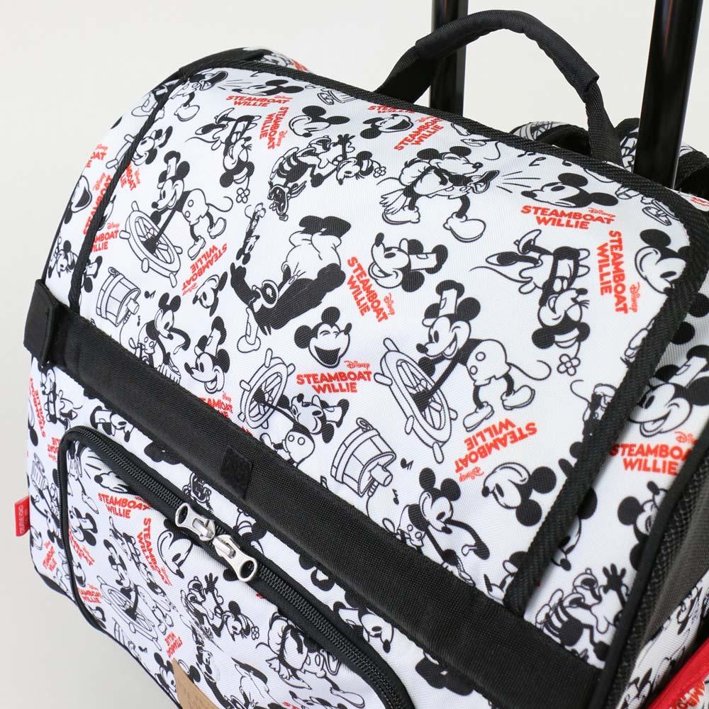 ペットパラダイス ディズニーミッキーマウス ウィリー柄コロリュックキャリーバッグ【小型犬】|