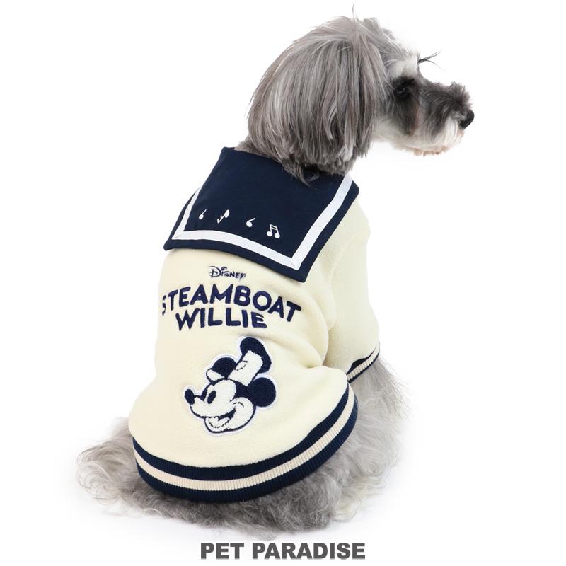 犬服 犬用品 ペットグッズ ペットウェア ペットパラダイス 犬 服 ディズニー ミッキーマウス トレーナー 【小型犬】 蒸気船ウィリー   ドッグウエア ドッグウェア いぬ イヌ おしゃれ かわいい メール便可