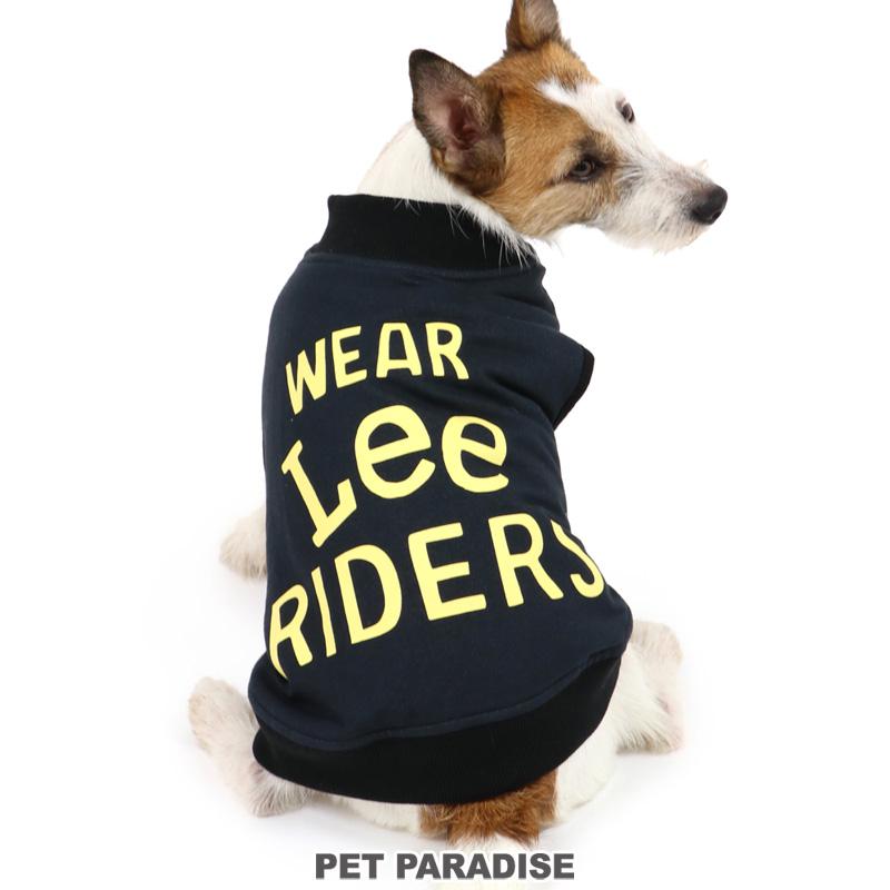 犬服 犬用品 ペットグッズ ペットウェア ペットパラダイス 犬 服 秋服 Lee ライダースロゴプリント ペットウエア ドッグウエア ベスト 期間限定特価品 超小型犬 小型犬 ベビー 驚きの価格が実現 ドッグウェア 黒