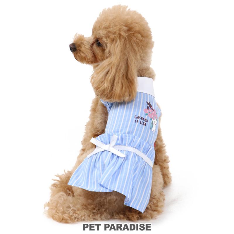 犬服 犬用品 ペットグッズ ペットウェア ペットパラダイス 犬 服 リサとガスパール ワンピース 小型犬 いぬ イヌ おしゃれ ローズ 販売期間 高品質新品 限定のお得なタイムセール ドッグウェア ペットウエア かわいい ドッグウエア メール便可