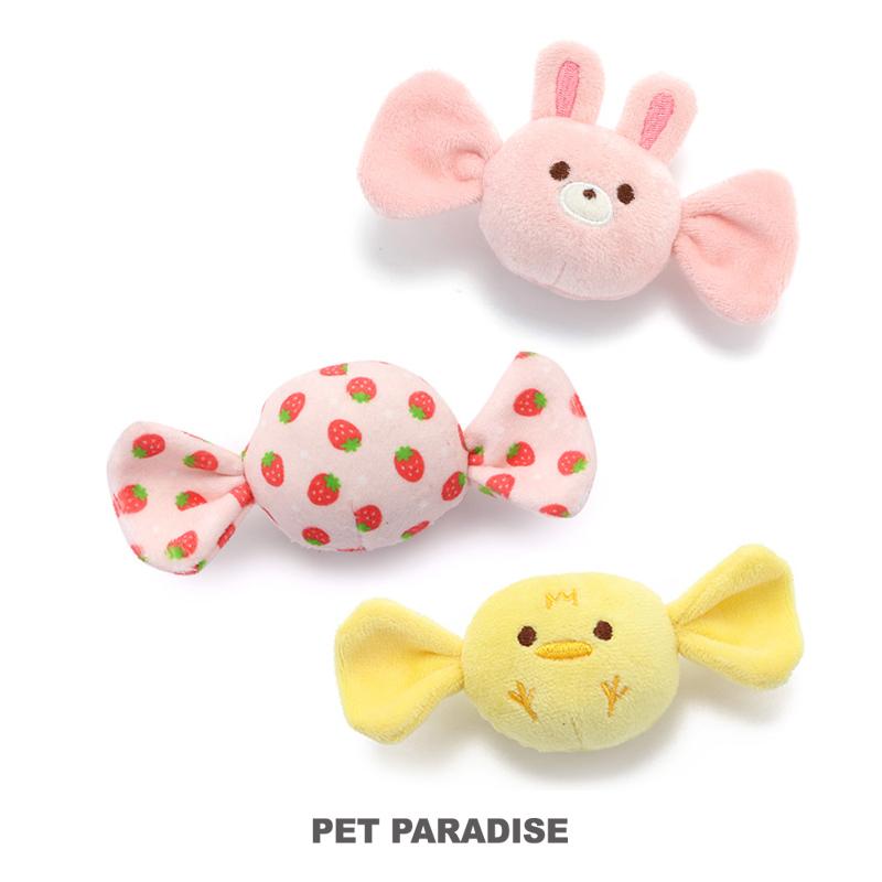 犬用品 ペットグッズ 犬 おもちゃ ペットパラダイス キャンディ トイ 現金特価 音が鳴る ぬいぐるみ ボール インスタ映え 猫 ロープ TOY おもしろ オモチャ かわいい 玩具 大特価 小型犬
