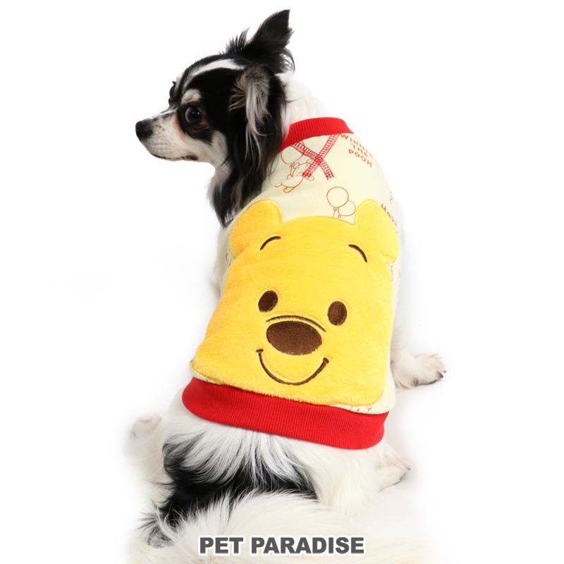 犬服 犬用品 ペットグッズ ペットウェア ペットパラダイス 犬 セール 服 秋冬 ディズニー くまのプーさん ベスト 小型犬 おしゃれ ドッグウェア 人気上昇中 いぬ かわいい キャラクター ダブルフェイス イヌ アウトレット SALE 顔 ドッグウエア 初回限定 返品交換不可