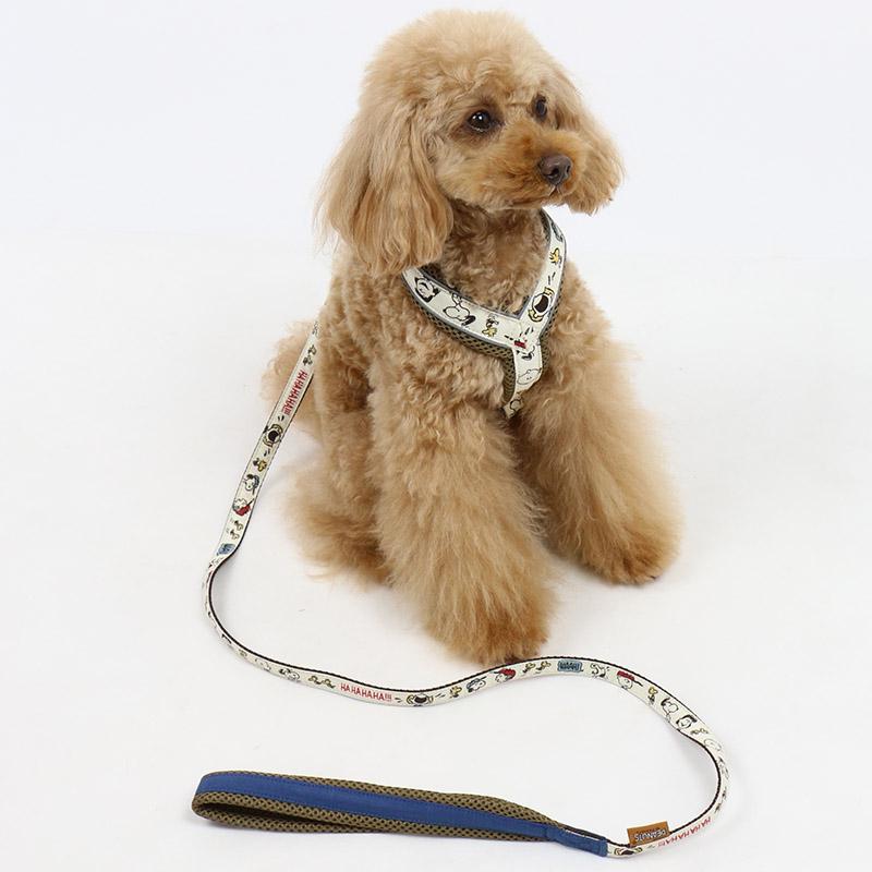 ペットパラダイス スヌーピー ファミリー リード【SM】  犬 犬具 中型犬