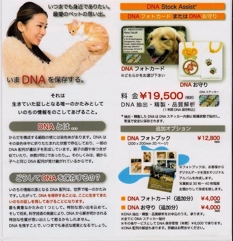 ペット(動物)DNA保存(OMOCA)(お守り)