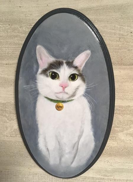 ペットの肖像【トールペイント】【限定5件お試し価格にて作成いたします】