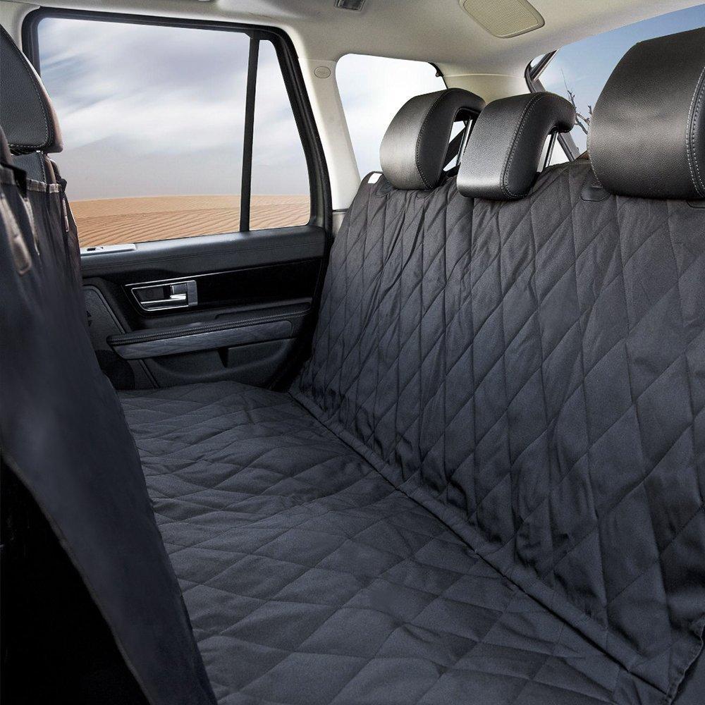 ペット用ドライブシート 後部座席用 147cm×137cm 犬 ドッグ 汚れ防止 防水加工 座席 ドライブ 車用 移動 カー用品 大判・大型 カーシート シートカバー 汚れに強い防水シート 取り付け簡単