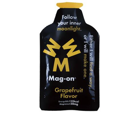 【増税による値上げはしていません】マグオン エナジージェル(グレープフルーツフレーバー) Mag-on(41g×72個) 水溶性マグネシウム サプリメント ミネラル トレーニング 持久走 4589941520076【HS】