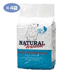 【PET】【送料無料】※ポイント10倍※ ナチュラルハーベスト メンテナンススモール フレッシュフィッシュ 1.59kg×4袋【THC】